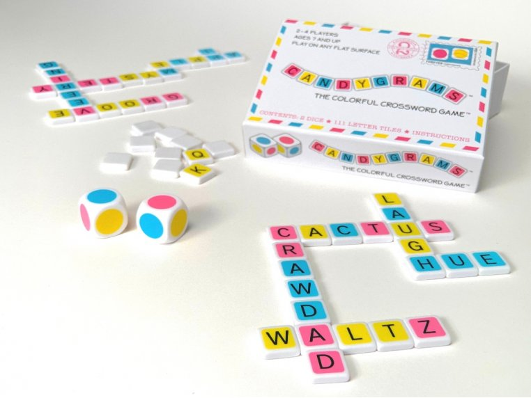 The Colorful Crossword Game by Candygrams - 2