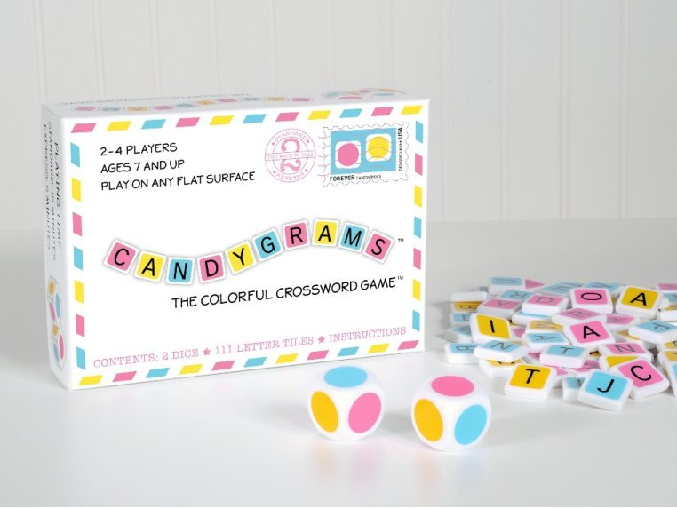 The Colorful Crossword Game by Candygrams - 4
