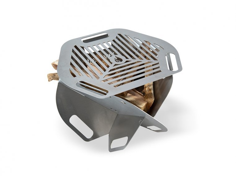 Spark Super Portable 2-in-1 Fire Pit & Grill by Fireflower-USA - 1