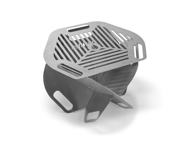 Spark Super Portable 2-in-1 Fire Pit & Grill by Fireflower-USA - 5