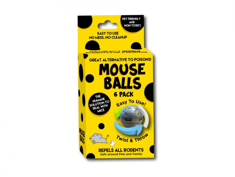 Non-Toxic Rodent Repellent Ball Pack by Repel 360 - 1