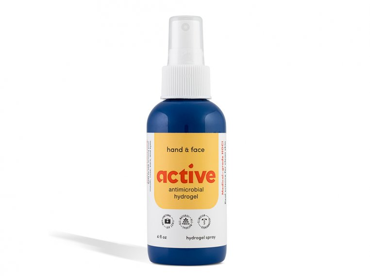 Active Antimicrobial Hand & Face Spray by BLDG Active - 1