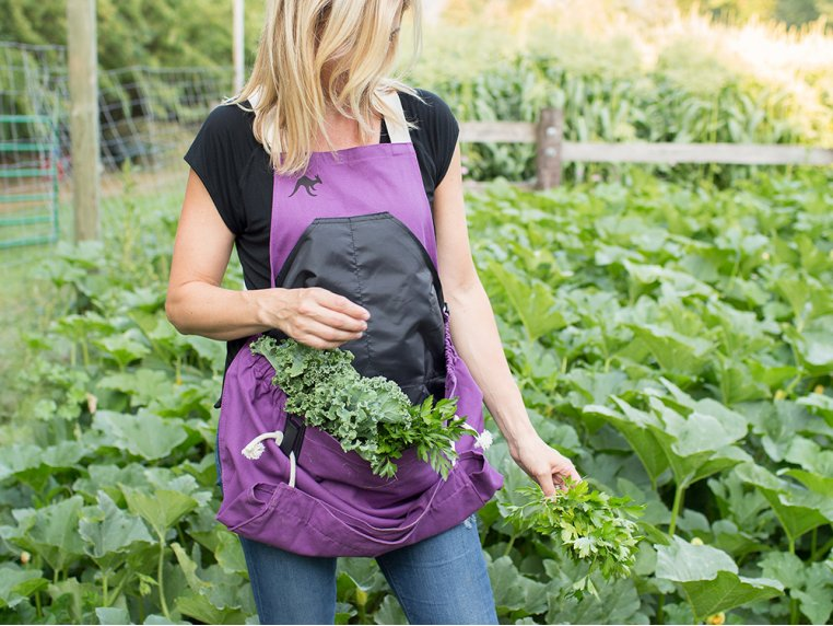 Full Body Gardening Apron with Pockets by Roo Apron - 2
