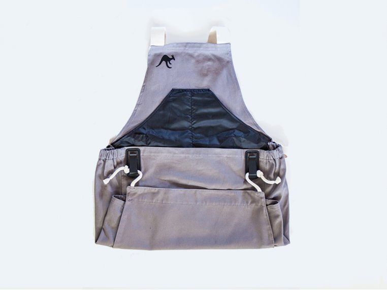 Full Body Gardening Apron with Pockets by Roo Apron - 7