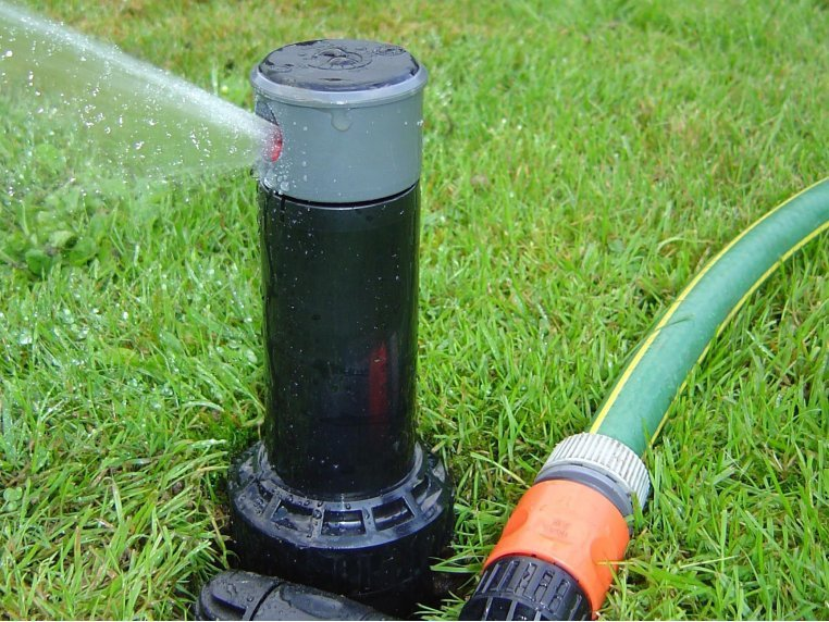 Adjustable In-Ground Sprinkler Kit by Quick-Snap - 3