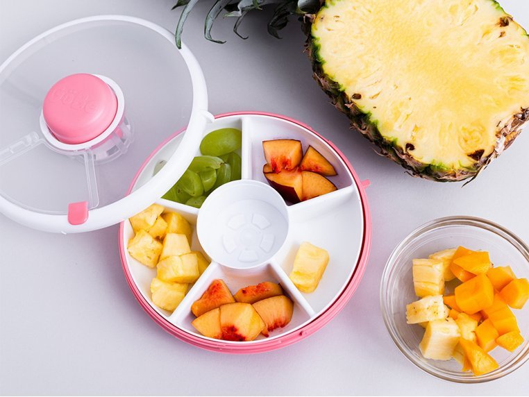 5 Compartment Snack Spinner Container by GoBe Kids - 2