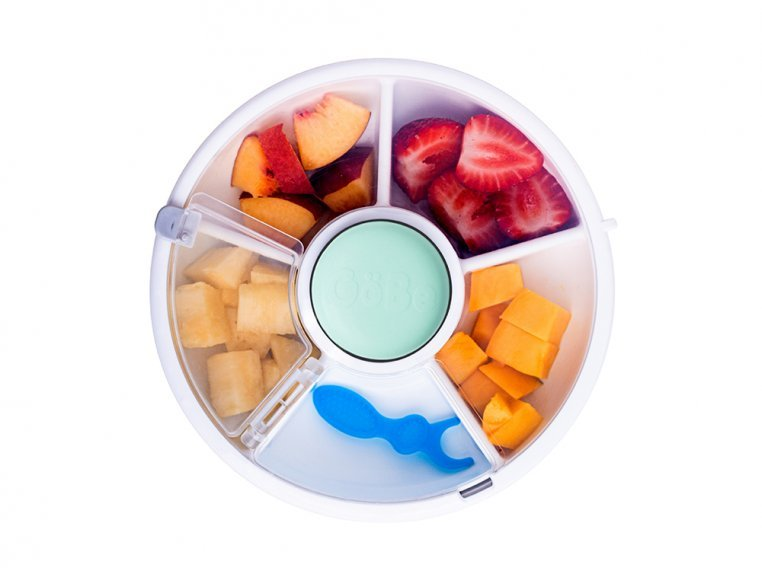 5 Compartment Snack Spinner Container by GoBe Kids - 1