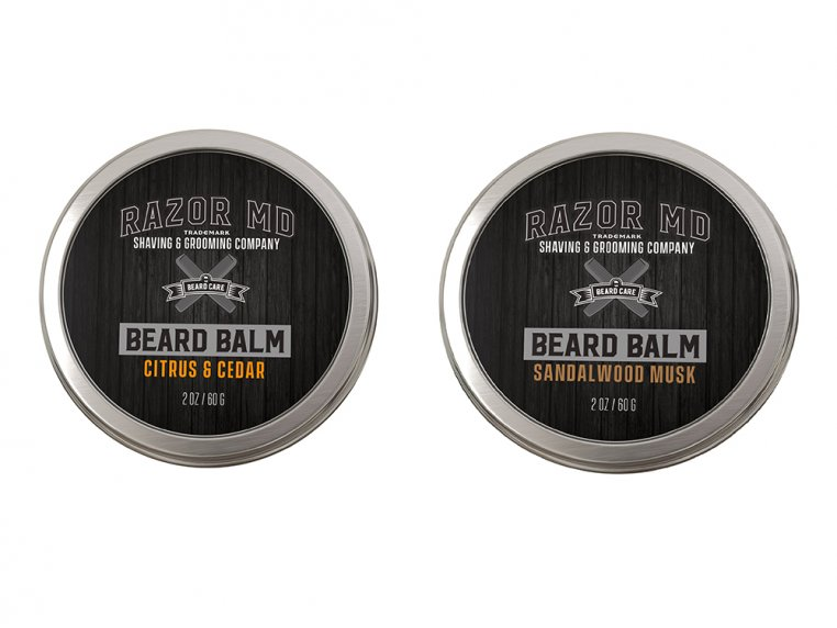 Beard Balm Sets by Razor MD - 3