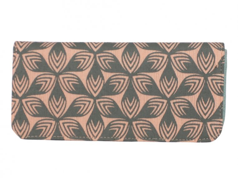 Screen Printed Long Wallet by Malia Designs - 5