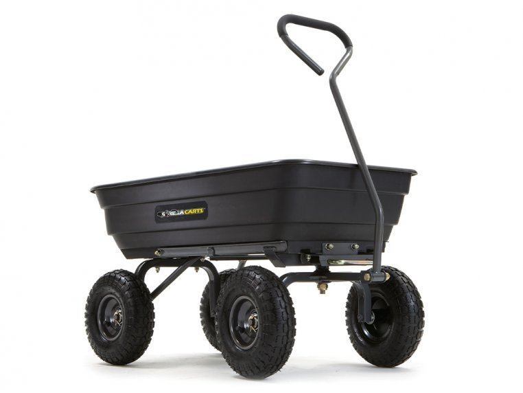 Gorilla Carts Poly Dump 600 lb Capacity by Tricam Industries - 1