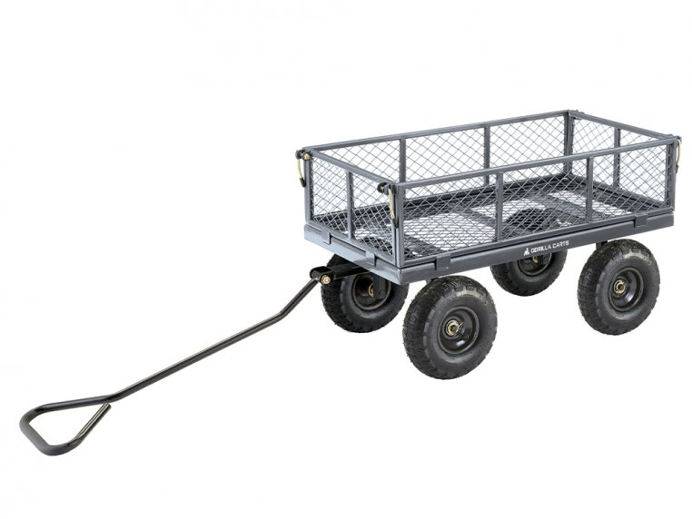 Gorilla Carts Steel Utility Cart 600 lb Capacity by Tricam Industries - 2