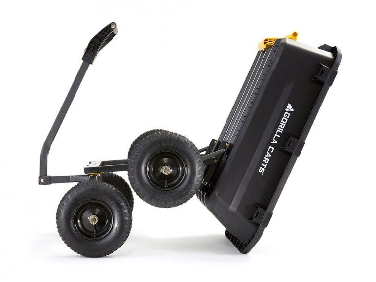 Gorilla Carts Poly Dump 1200 lb Capacity by Tricam Industries - 2