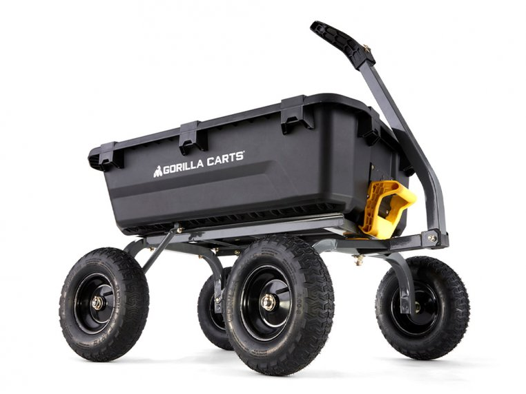 Gorilla Carts Poly Dump 1200 lb Capacity by Tricam Industries - 1