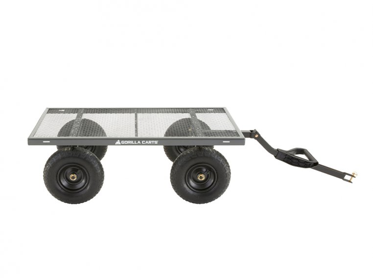 Gorilla Carts Steel Utility Cart 1000 lb Capacity by Tricam Industries - 2