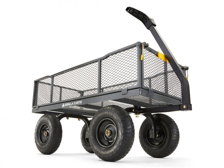 Gorilla Carts Steel Utility Cart 1000 lb Capacity by Tricam Industries - 1