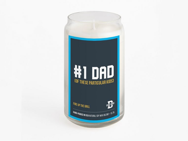 #1 Dad Candle by Scary Mommy - 2
