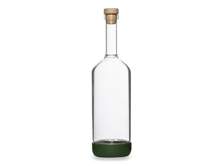 Classic Glass Bottle & Pour Spout by Crew Supply Co. - 5