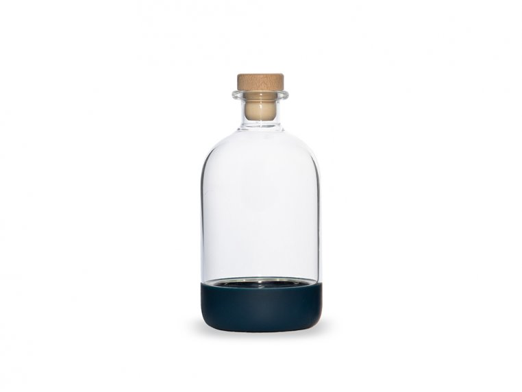 Chubby Glass Bottle & Pour Spout by Crew Supply Co. - 9