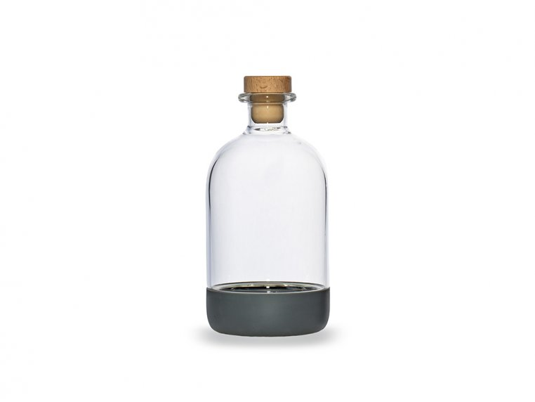 Chubby Glass Bottle & Pour Spout by Crew Supply Co. - 10