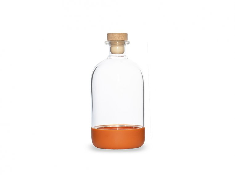 Chubby Glass Bottle & Pour Spout by Crew Supply Co. - 11