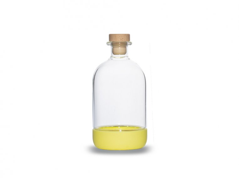 Chubby Glass Bottle & Pour Spout by Crew Supply Co. - 13