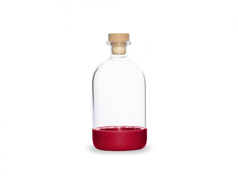 Chubby Glass Bottle & Pour Spout by Crew Supply Co. - 14