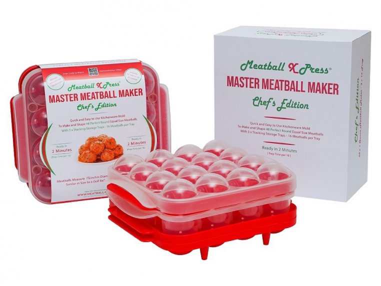 Meatball Maker with Storage Trays by Meatball Xpress - 4