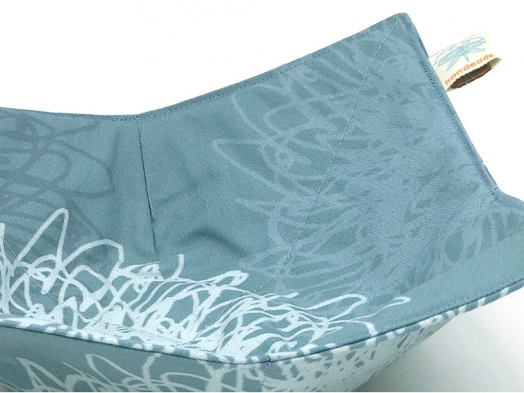 Cotton Microwave Bowl Holder by Shawn Sargent Designs - 4