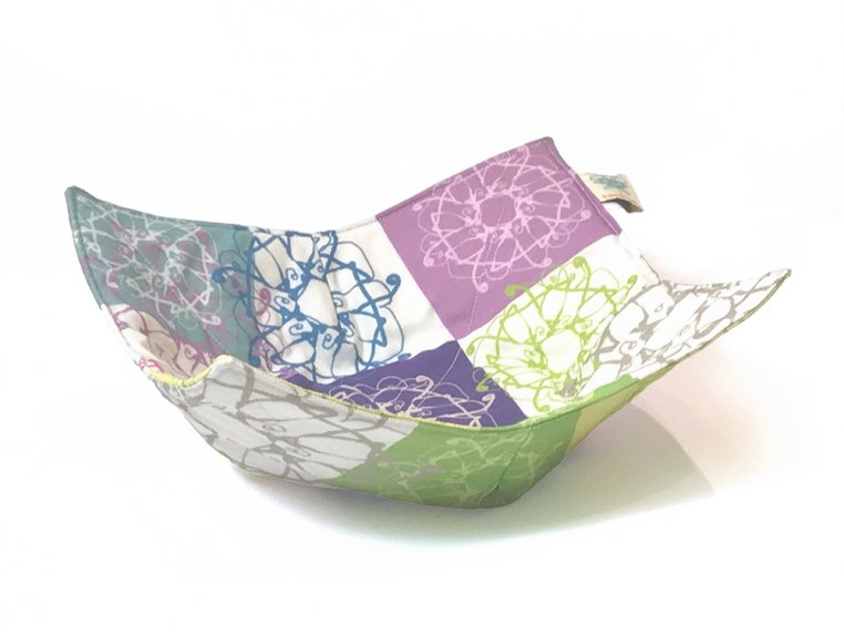 Cotton Microwave Bowl Holder by Shawn Sargent Designs - 9
