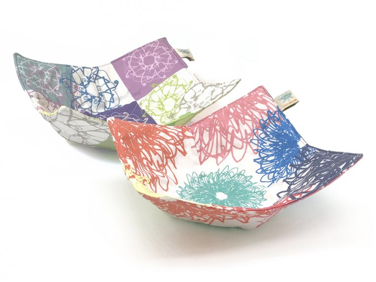 Cotton Microwave Bowl Holder by Shawn Sargent Designs - 11