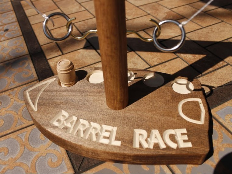 Barrel Race™ Table Top Game by Oakline Designs - 3