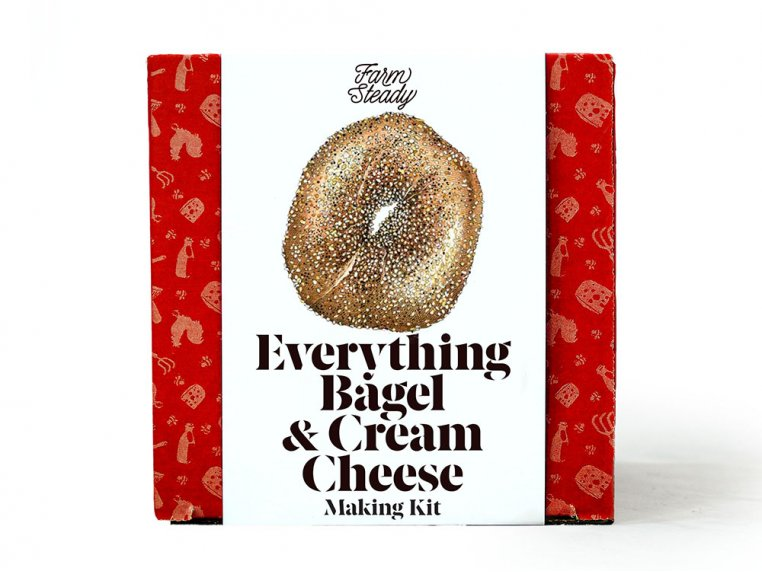 Everything Bagel & Cream Cheese Making Kit by FarmSteady - 1