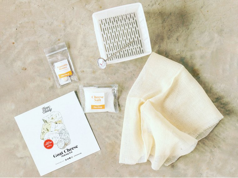 Goat Cheese Making Kit by FarmSteady - 2