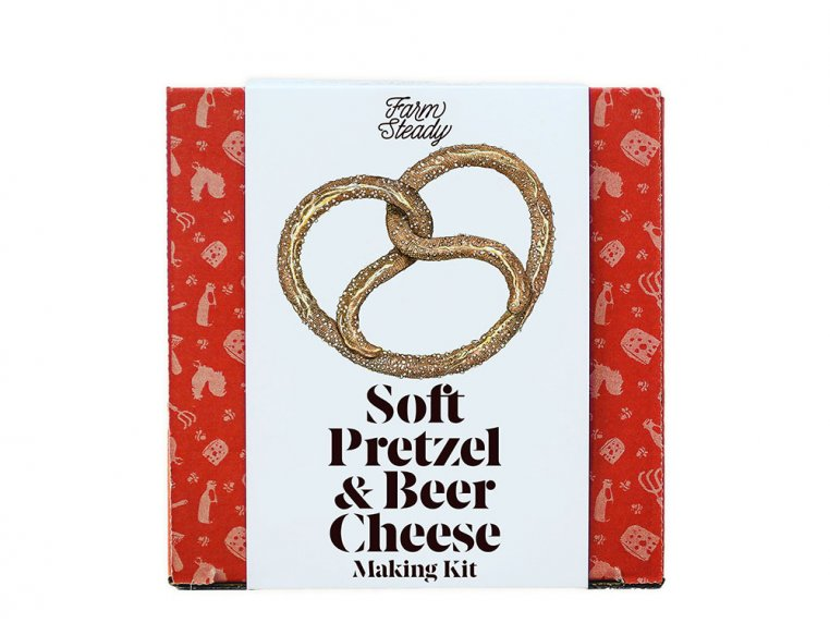 Soft Pretzel & Beer Cheese Making Kit by FarmSteady - 1