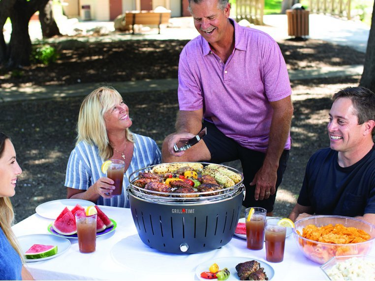 Portable Charcoal Tailgater Grill by Grill Time - 2
