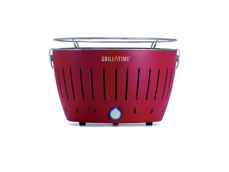 Portable Charcoal Tailgater Grill by Grill Time - 1