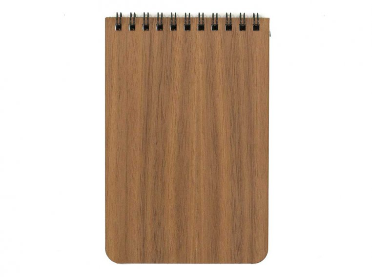 Custom Wooden Cover Notepad by Woodchuck USA - 5