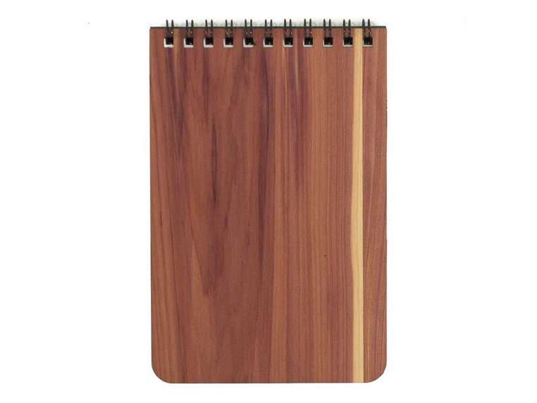Custom Wooden Cover Notepad by Woodchuck USA - 6