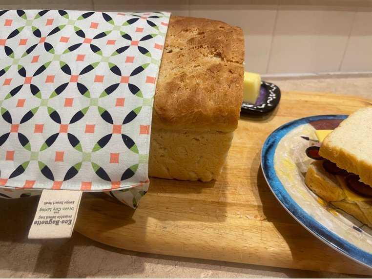 EcoBaguette Bread Keeper Bag by Green City Living - 2