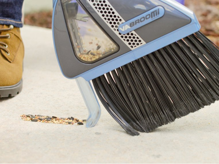 Sweeper with Built-In Vacuum by VaBroom - 2
