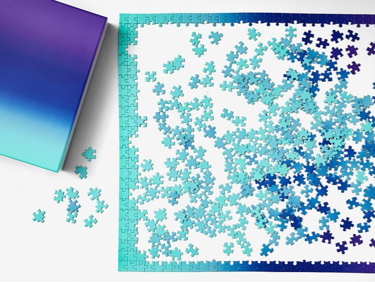 Color Gradient Puzzle by Areaware - 2