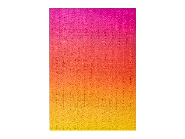 Color Gradient Puzzle by Areaware - 3