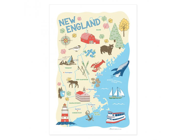 Destinations Tea Towels by Vestiges - 10