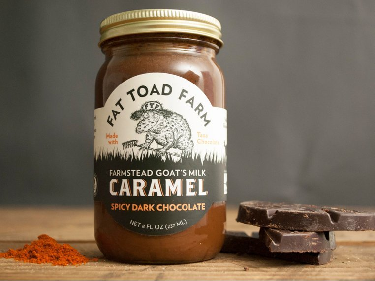 Goat's Milk Caramel Duo - Pick Two by Fat Toad Farm - 1