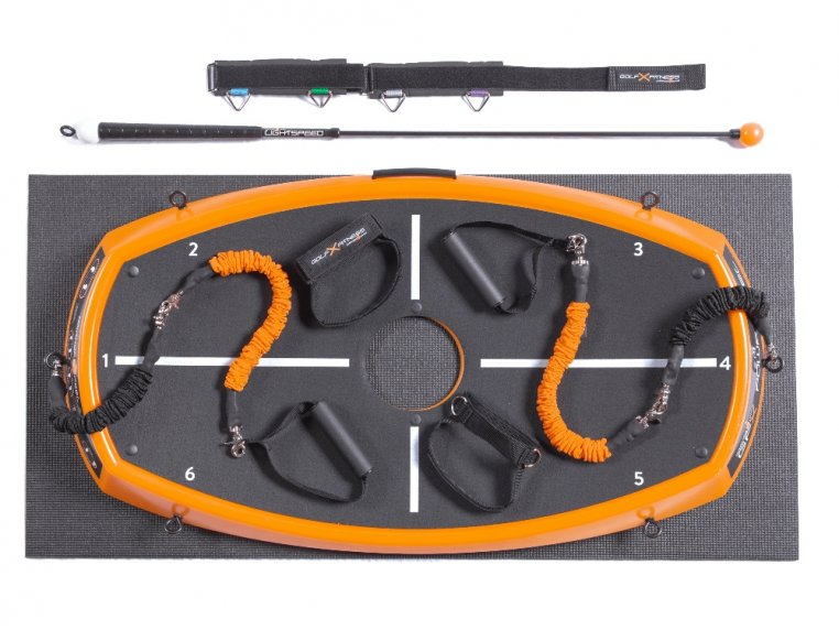 Golf Power Swing & Exercise Trainer by Orange Whip - 8