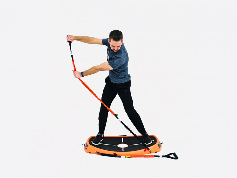 Golf Power Swing & Exercise Trainer by Orange Whip - 4