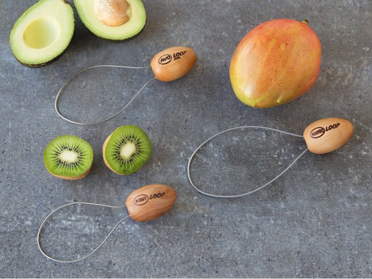 Fruit and Vegetable Peeler - Set of 3 by Peel Ripe Loops - 1