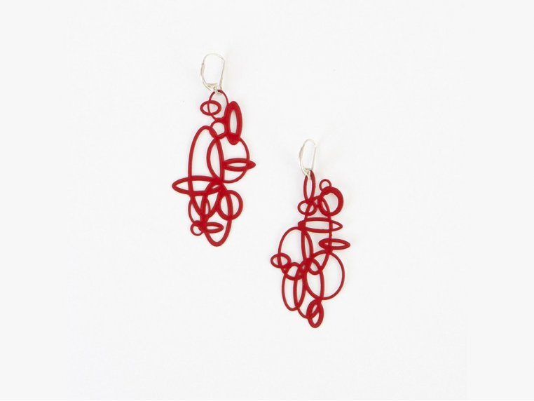 Circles Earrings by Pop-Out Jewelry - 4