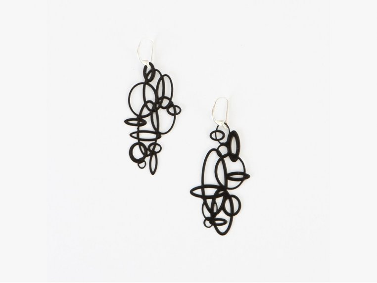 Circles Earrings by Pop-Out Jewelry - 7