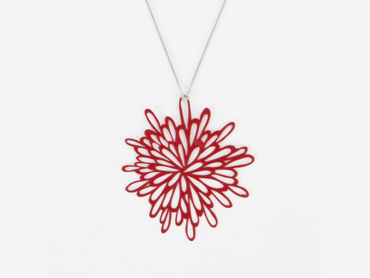 Starburst Pendant Necklace by Pop-Out Jewelry - 4